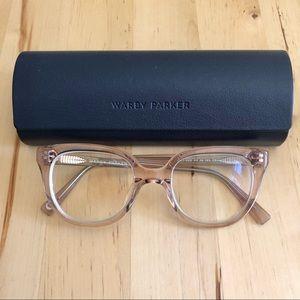 Warby Parker Lila Rose Water Low Bridge Frames